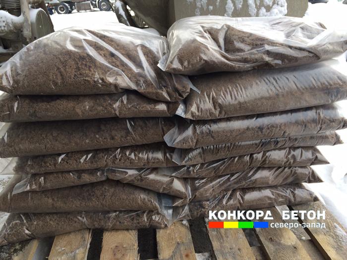 Пескосоляная смесь 50/50 в мешках по 40 кг